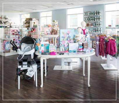 A peek inside the Babies in Bloom Boutique